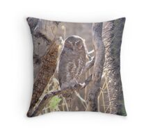 """I'm trying to sleep"" Throw Pillow"