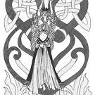 Celtic Queen of Hearts by redqueenself
