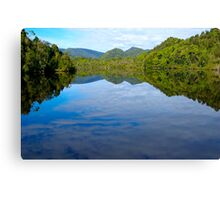 River Mirror - Gordon River, Tasmania Canvas Print