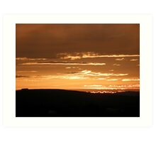 Grainan Gold Donegal Ireland  Art Print