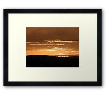 Grainan Gold Donegal Ireland  Framed Print