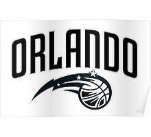 Orlando Magic logo 1 Poster