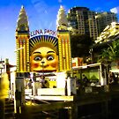 Give Me A Smile - Luna Park Sydney by Neil Ross