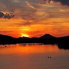 Pinnacle Mountain Sunset by Lisa G. Putman