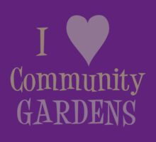 Community Garden Love Purple by Northcote Community  Gardens