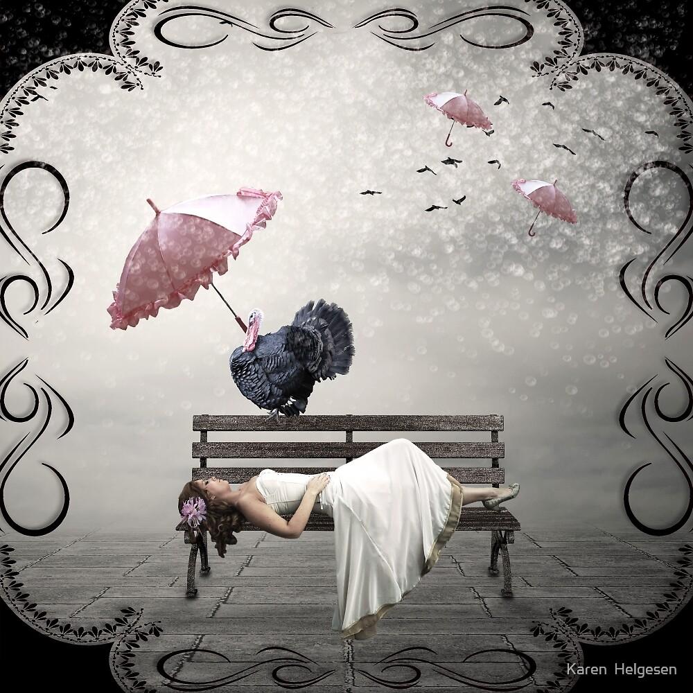 Shelter From The Storm... by Karen  Helgesen