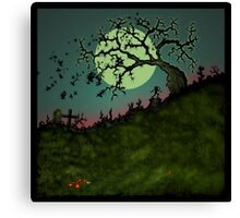 Consult the Willow Canvas Print