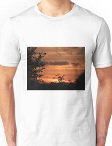 Sunset Plant Derry Ireland Unisex T-Shirt