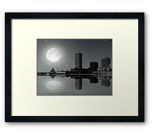 Downtown Milwaukee...Lake View ©  Framed Print