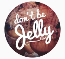 Don't be Jelly jellyfish hipster girly trendy laptop hipster beach print by Rachelyouens