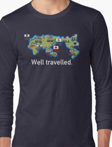 Well Travelled Long Sleeve T-Shirt
