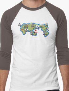Well Travelled Men's Baseball ¾ T-Shirt