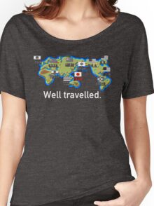 Well Travelled Women's Relaxed Fit T-Shirt