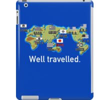 Well Travelled iPad Case/Skin