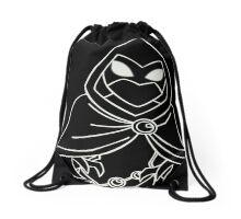 Teen Titans - Raven outlines Drawstring Bag