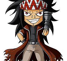 Iron Dragon Slayer by zombiegirl01