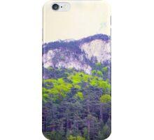 Austrian mountain view iPhone Case/Skin