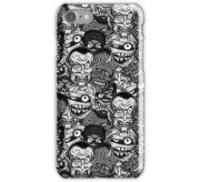 Classic B&W Movie Monsters iPhone Case/Skin