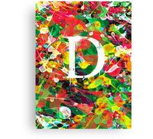 D Canvas Print