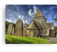 St. Annes Church Alderney Canvas Print