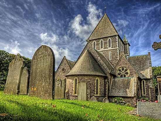 St. Annes Church Alderney by NeilAlderney