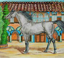 Spanish Arabian by WildestArt