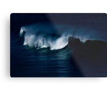 Wave Noir Metal Print