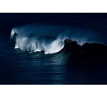 Wave Noir Photographic Print