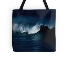 Wave Noir Tote Bag