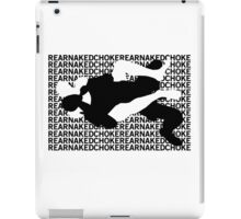 Jiu Jitsu MMA Rear Naked Choke iPad Case/Skin