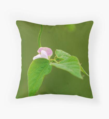 kidney bean'flower Throw Pillow