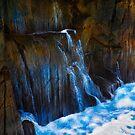 Ocean Wall Waterfall by Tony Phillips