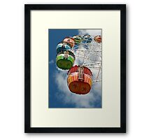 Ferris Carriages Framed Print