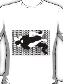 Jiu Jitsu MMA Rear Naked Choke T-Shirt
