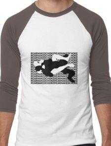 Jiu Jitsu MMA Rear Naked Choke Men's Baseball ¾ T-Shirt