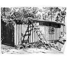Summer cottage Poster