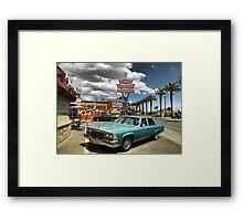 Las Vegas Motel Framed Print