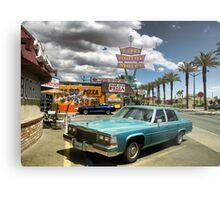 Las Vegas Motel Metal Print
