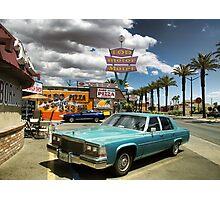 Las Vegas Motel Photographic Print