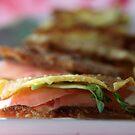 Wanting a Tuna snack? (Wonton Tuna Wasabi Stacks with recipe - makes 24) by Hege Nolan