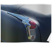 1951 Oldsmobile tail light Poster