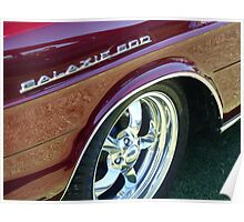 Ford Galaxie Glory Poster