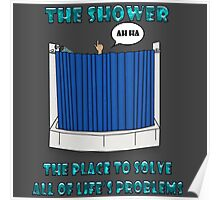 Shower Thoughts Poster