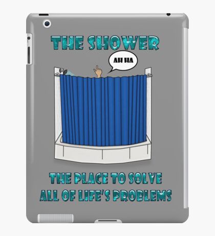 Shower Thoughts iPad Case/Skin