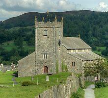 Hawkshead Church by Jamie  Green