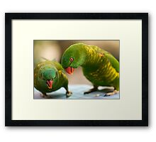 How about it then? Framed Print