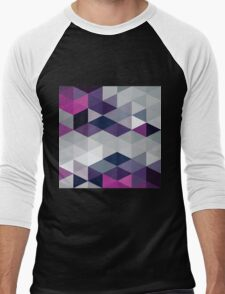 Another Touch Of Purple Men's Baseball ¾ T-Shirt