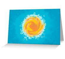 Sunny And Warm Greeting Card