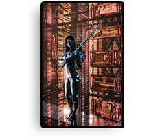Cyberpunk Painting 061 Canvas Print