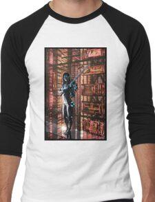 Cyberpunk Painting 061 Men's Baseball ¾ T-Shirt